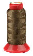 Нитка швейная TYTAN (Турция) № 40, для машинки Версаль, цв. коричневый(F107), 500 м