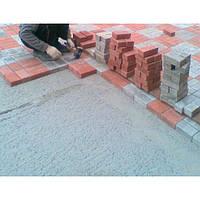 Укладання бетонної плитки
