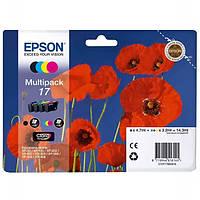 Epson 17 Набор Картриджей B/C/M/Y (C13T17064A10)