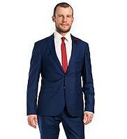 Стильный мужской костюм в красную клетку Giotelli