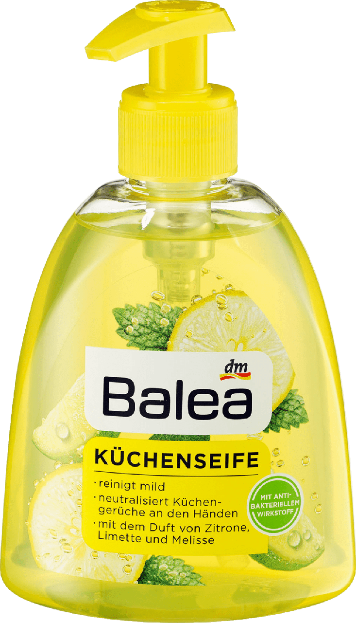 Жидкое кухонное мыло Balea Limette & Melisse, 300 ml
