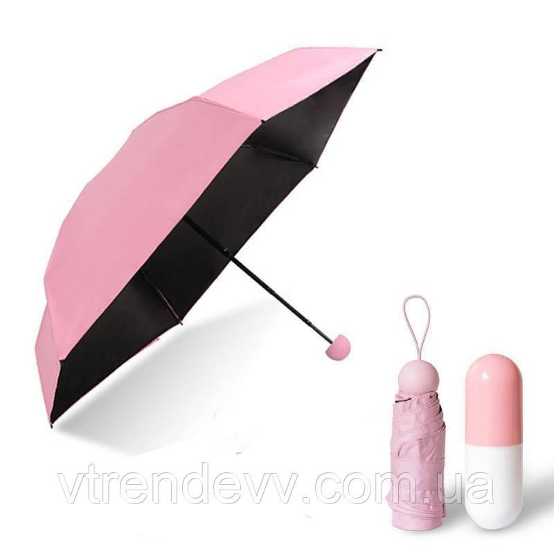 Зонтик в капсуле мини GCA mini розовый