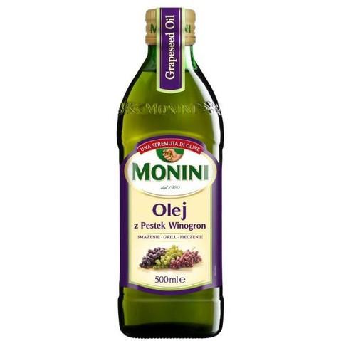 Масло виноградных косточек Monini, 500мл
