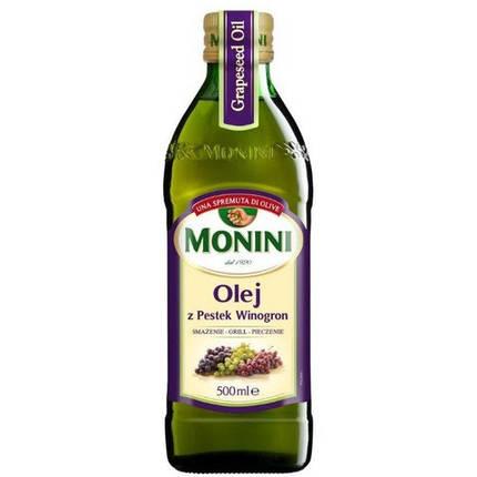 Масло виноградных косточек Monini, 500мл, фото 2