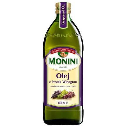 Масло виноградных косточек Monini, 1л, фото 2