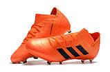 Бутсы adidas Nemeziz 18.1 FG orange, фото 3