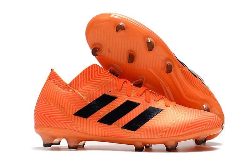 Бутсы adidas Nemeziz 18.1 FG orange