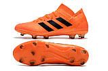 Бутсы adidas Nemeziz 18.1 FG orange, фото 4