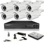 Системы видеонаблюдения, охранные системы, домофоны