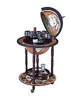 Глобус бар напольный 45001N-M кофейный