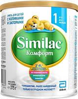 Similac Комфорт 1 симилак молочная смесь, 375г  8427030006833