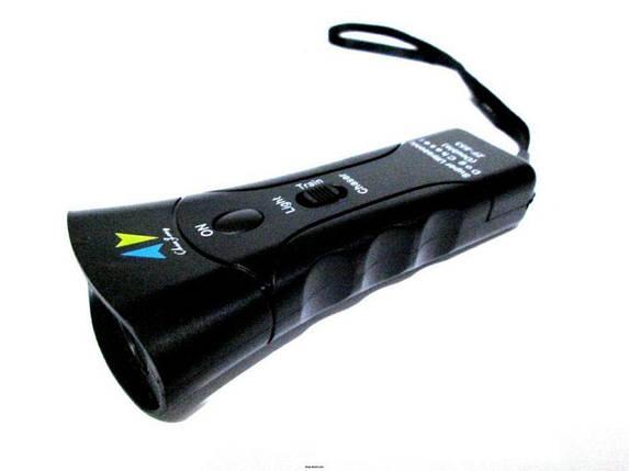 Мощный ультразвуковой отпугиватель собак Ultrasonic ZF-853E, фото 2