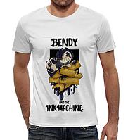 Футболки Бенди и чернильная машина Bendy and the Ink Machine