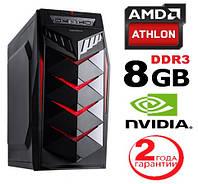 Персональный компьютер Battlefield 4ядра Athlon 840 3.8GHz / ОЗУ_8Gb / HDD_500 / GeForce GT1030_2Gb_DDR5!