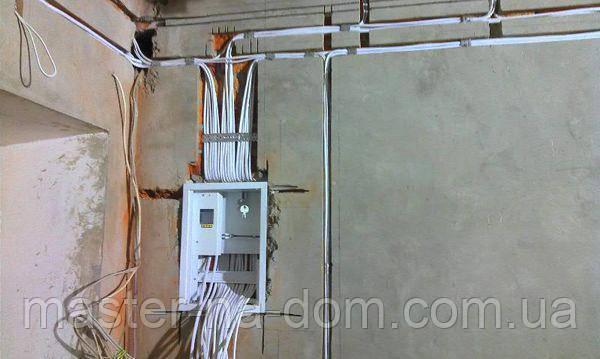 Монтаж електропроводки в Житомирі