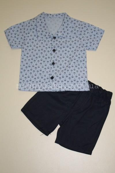 Сорочка з шортами для хлопчика 1-4 років