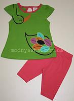 Літній костюм для дівчинки 9-24 місяці