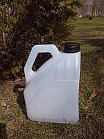 Канистра полимерная квадратная 4 литра