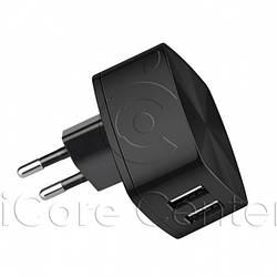 Мережевий зарядний пристрій 2xUSB Hoco C26A
