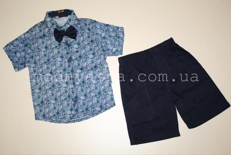 Сорочка з шортами хлопчику 3-4 років