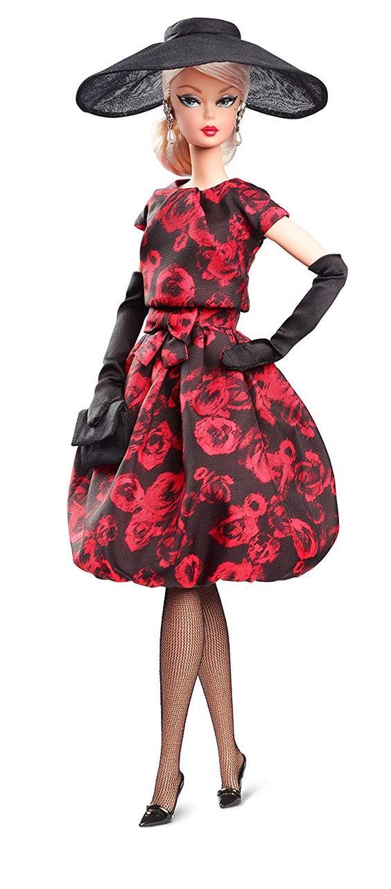 Кукла Барби коллекционная Силкстоун Barbie Elegant Rose Cocktail Dress Doll