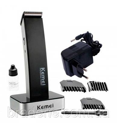 Машинка для стрижки Kemei KM-619 Аккумуляторная , фото 2