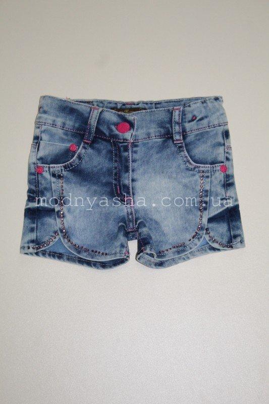 Шорти джинсові 2-3 р.