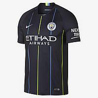 Футбольная форма ФК Манчестер Сити (Manchester City) 2018-2019 Выездная Детская, фото 1