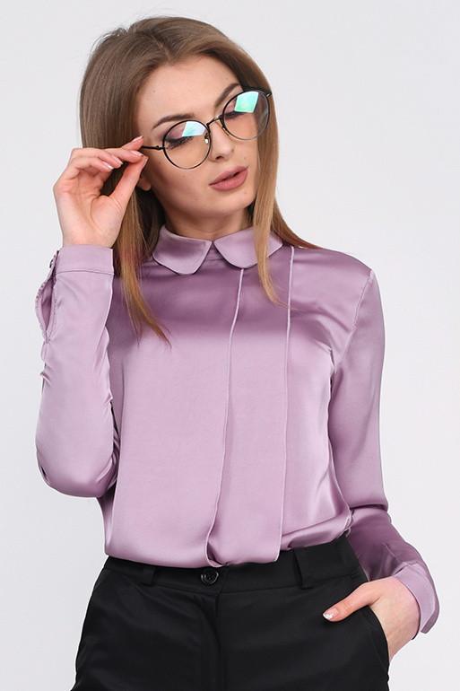 Дизайнерская шелковая блузка
