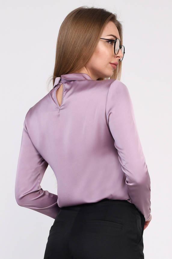 Дизайнерская шелковая блузка , фото 2
