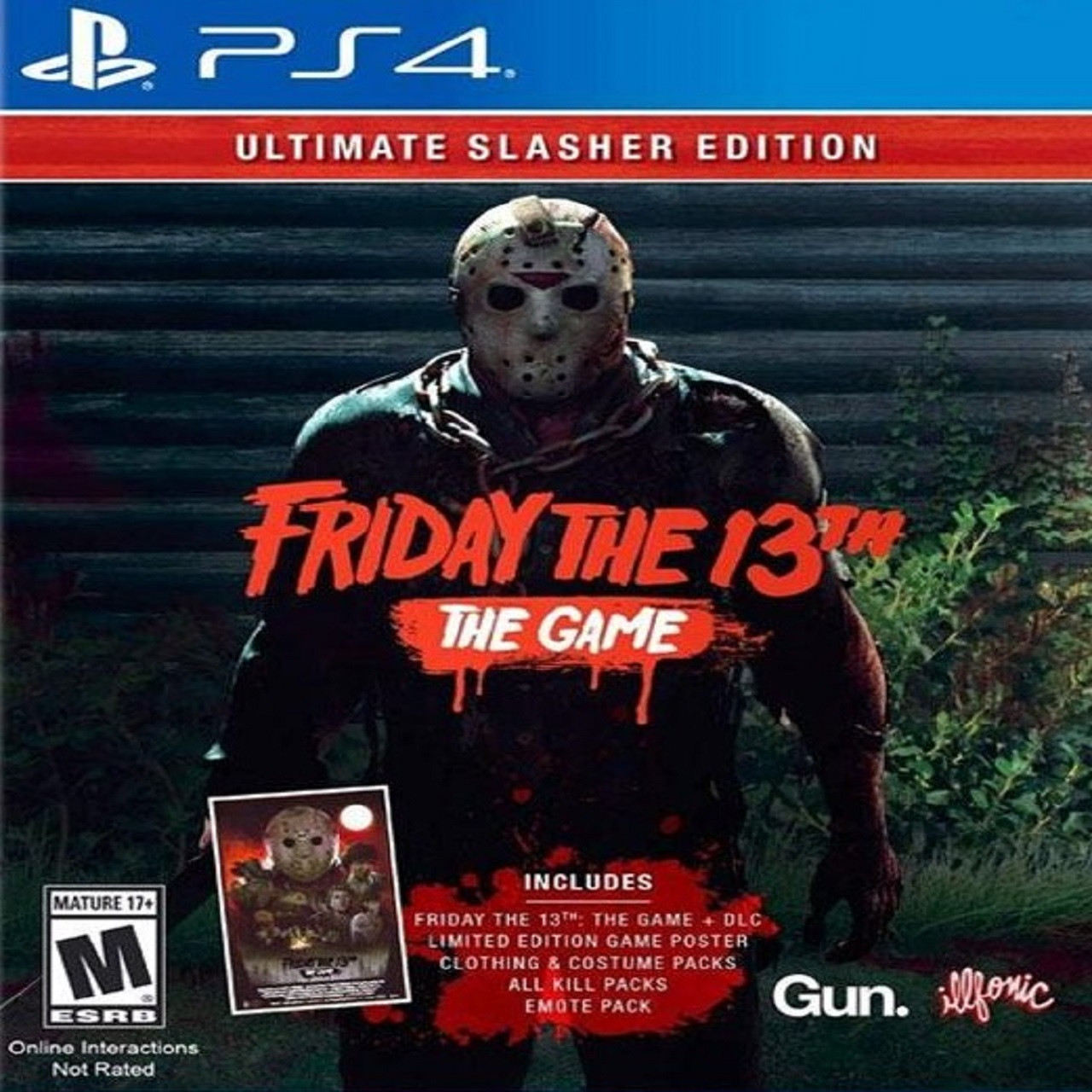 Friday the 13th: The Game ENG PS4 (NEW)
