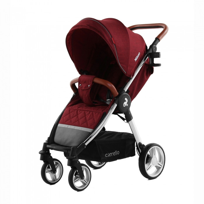 Коляска CARRELLO Milano CRL-5501 Tango Red