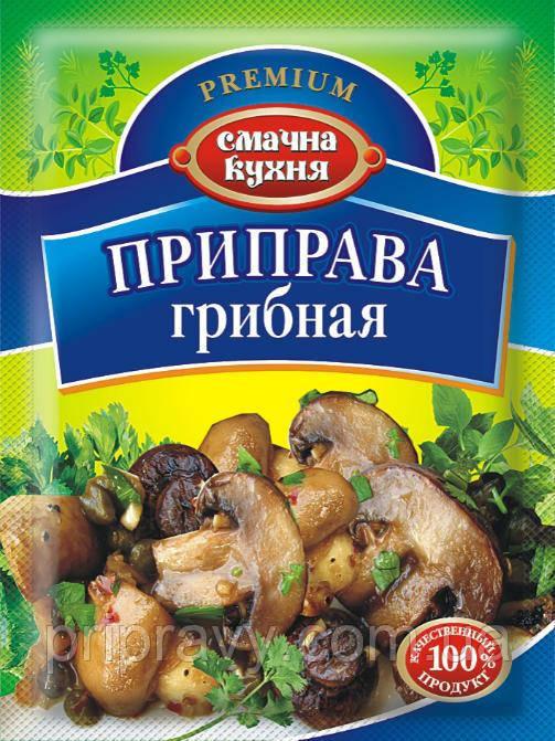 Приправа грибная ТМ Смачна кухня, 70 г