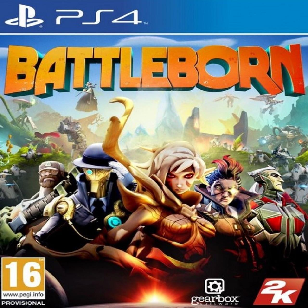 Battleborn RUS PS4 (Б/В)