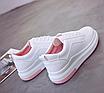 Кроссовки женские Classic Белые с розовым 36 размер, фото 2