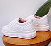 Кроссовки женские Classic Белые с розовым 36 размер, фото 4