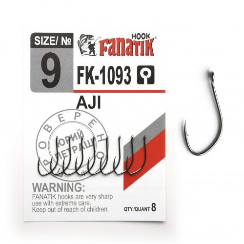 Крючок Fanatik AJI FK-1093 №9 (8 шт.)