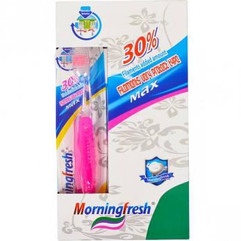 Зубные щетки дорожные складные «Morningfresh» 18,5 см 937, фото 2