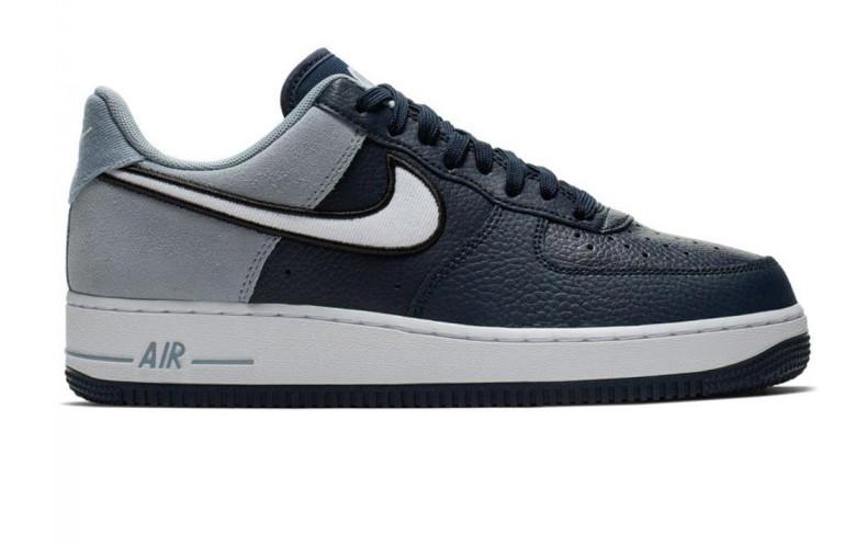 af9d3cf3 Оригинальные кроссовки Nike Air Force 1 Navy White (ART. AO2439-400 ...