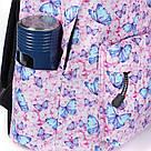 Рюкзаки для девочек с принтом бабочки и единорога., фото 3