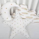 """Декоративные подушки  """"Золотые мечты"""" набор 3 шт, фото 4"""