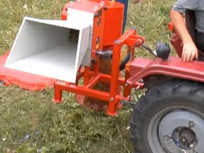 Работа измельчителя веток ARPAL АМ-80ТР от ВОМ трактора