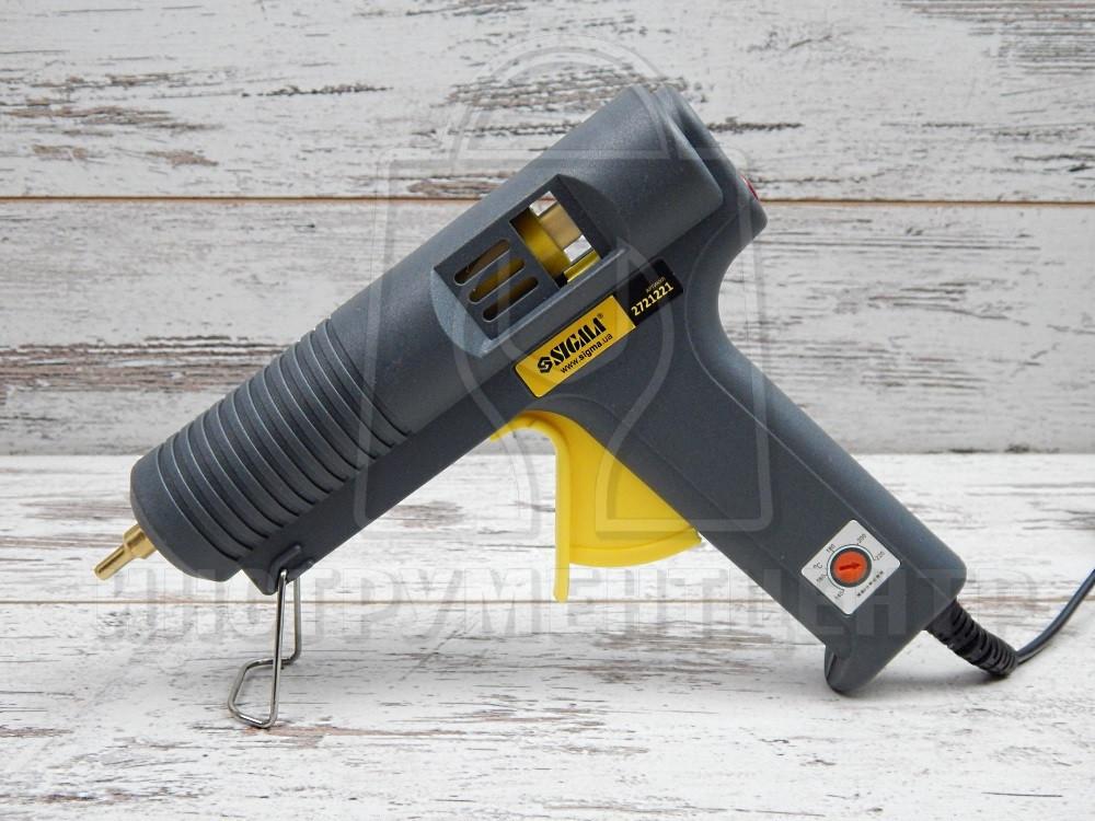 Пистолет термоклеевой Sigma 2721221 500 Вт