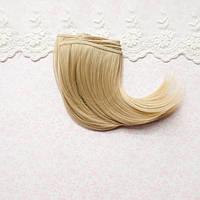 Волосы для Кукол Трессы Боб ХОЛОДНЫЙ РУСЫЙ Шелк 10 см