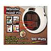 ➤Тепловентилятор Wonder Heater Pro компактный электрический обогреватель 900W для комнаты с дисплеем, фото 4