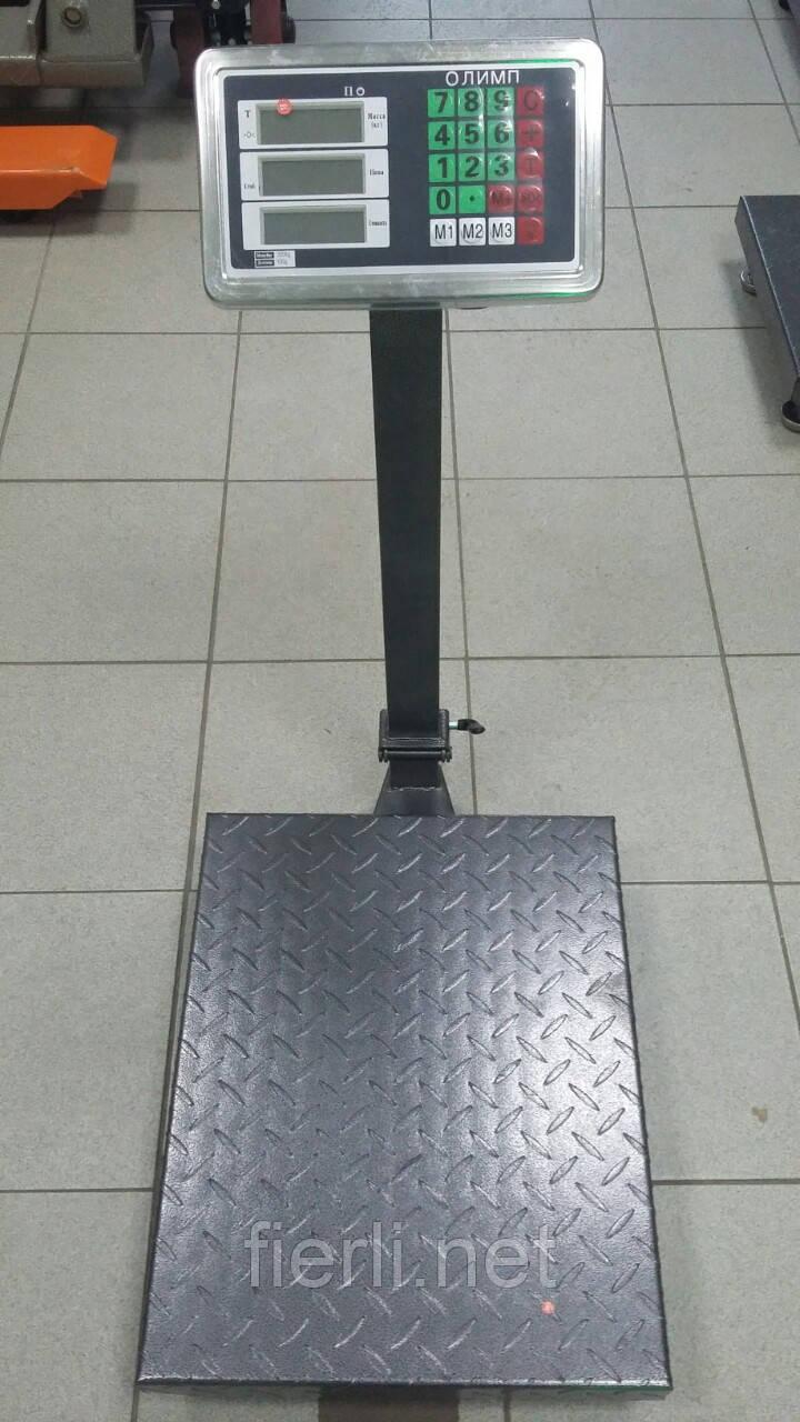Товарные  весы Олимп TCS-K2 (300 кг).  400х500 мм.