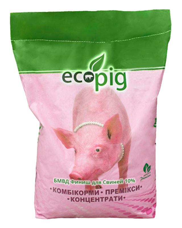 БМВД ECOPIG Фініш  для свиней 10%