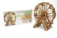 Деревянный конструктор Wood Trick Механическое Колесо обозрения.Техника сборки - 3d пазл