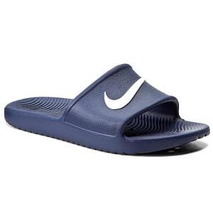 Шлепанцы Nike Kawa Shower 832528-400 42.5 Тёмно-синий
