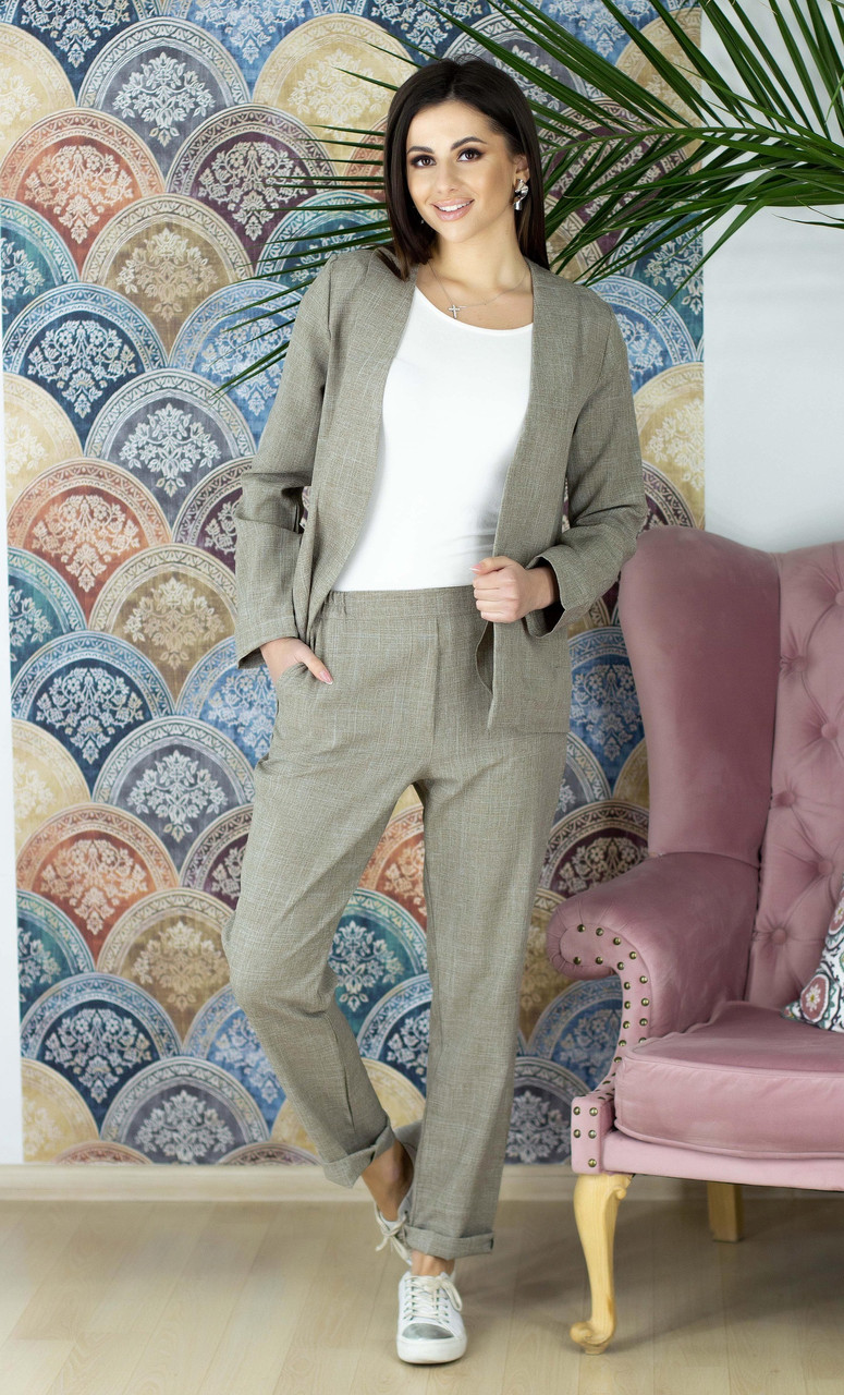 acb7a4c116db Женский брючный костюм - купить по лучшей цене в Одессе от компании ...